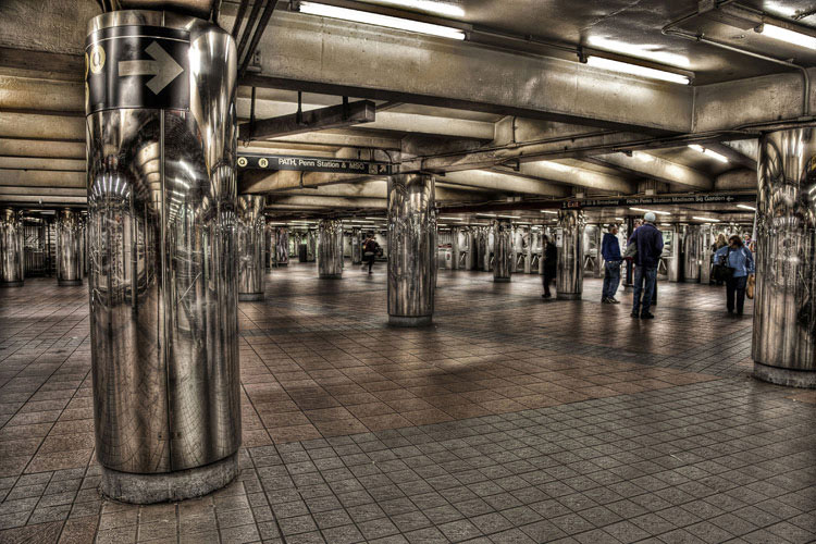 Seth Walters Panorama HDR New York Subway