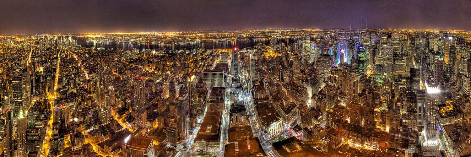 Seth Walters HDR New York Manhattan Empire State Building Panorama